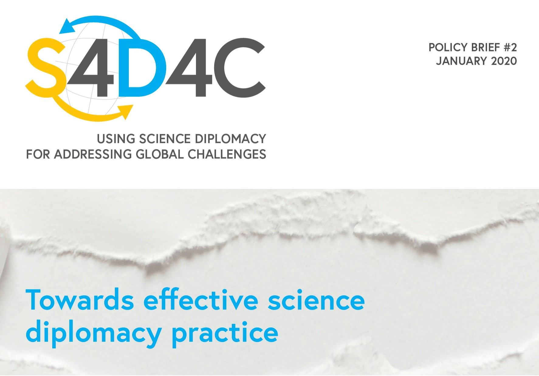 S4D4C Policy Brief 4.1 cover